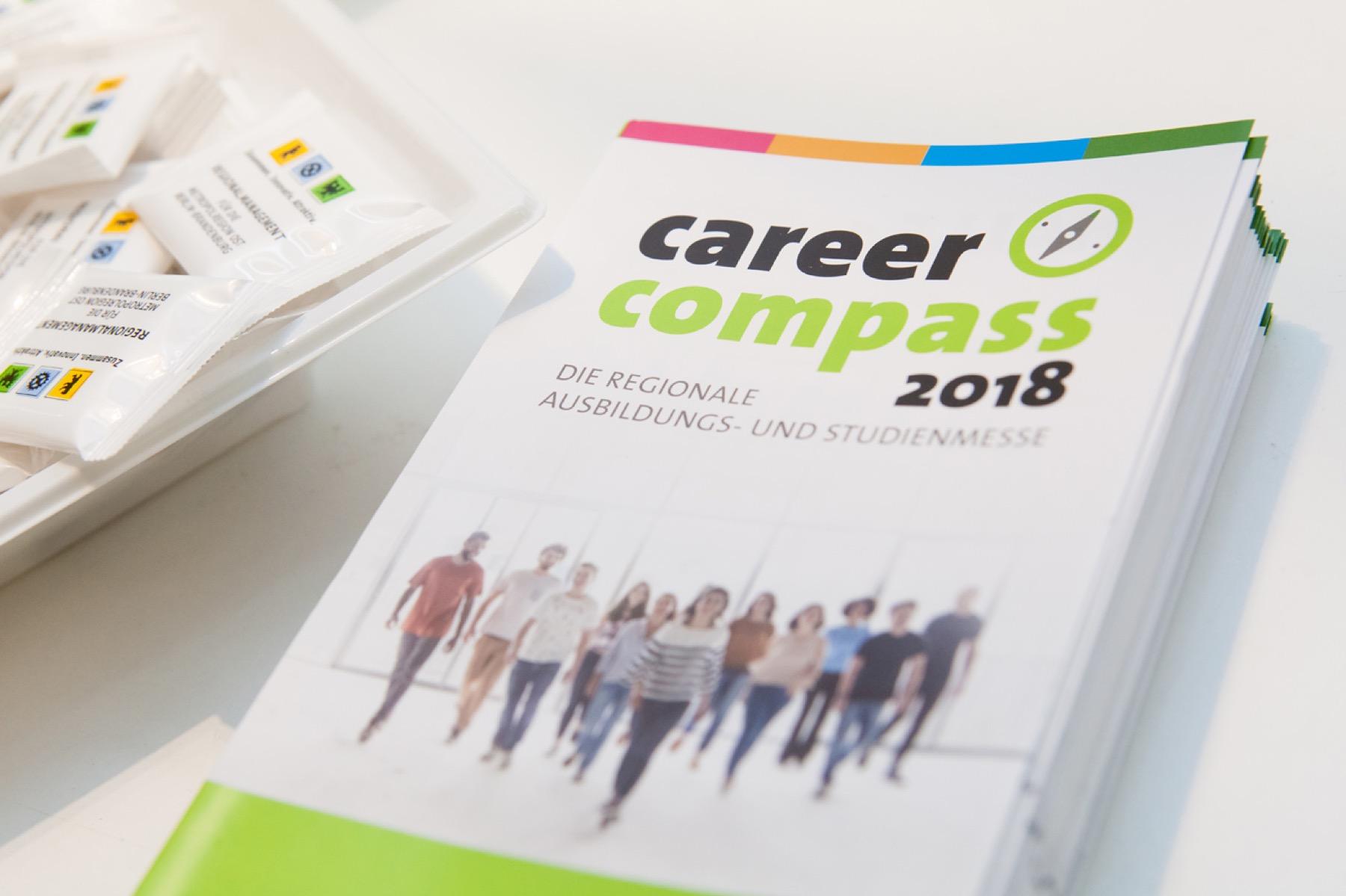 Die erste Ausbildungs- und Studienmesse der Metropol Region Ost am 09.03. und 10.03.2018 iCareer Compass 2018 Ausbildungs- und Studienmesse zukünftigen Ausbildungsbetrieb geknüpft.