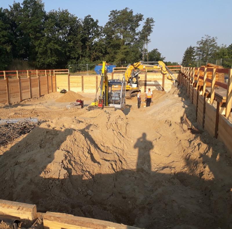 Klärwerk Stahnsdorf - Neubau einer Prozesswasserbehandlungsanlage